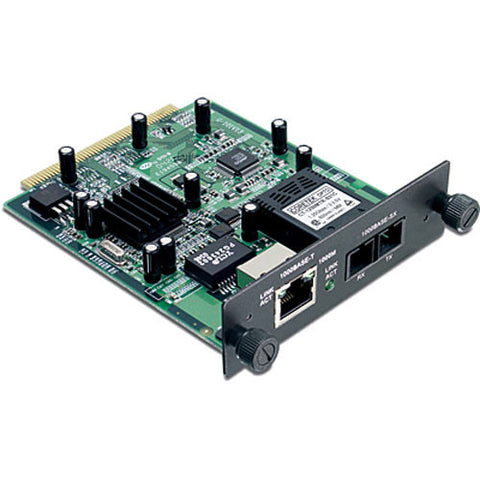 2 Port Gigabit RJ45 and Fibre Module TEG-S24M11CF