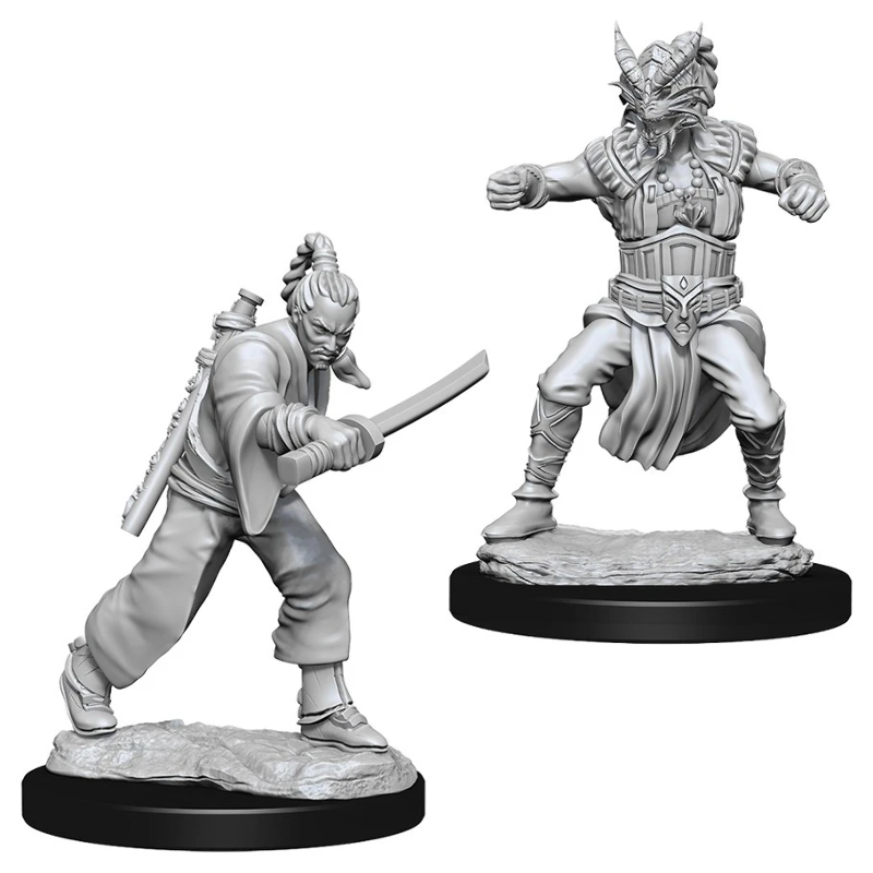 DND UNPAINTED MINIS WV8 MALE HUMAN MONK