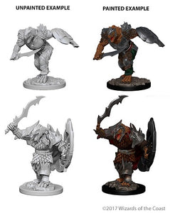 DND UNPAINTED MINIS WV4 DRAGONBORN MALE FIGHTER