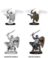 DND UNPAINTED MINIS WV5 AASIMAR MALE PALADIN
