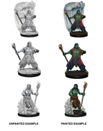 DND UNPAINTED MINIS WV5 WATER GENASI MALE DRUID