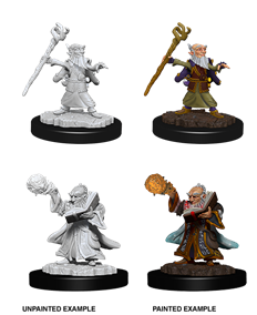 DND UNPAINTED MINIS WV6 MALE GNOME WIZARD