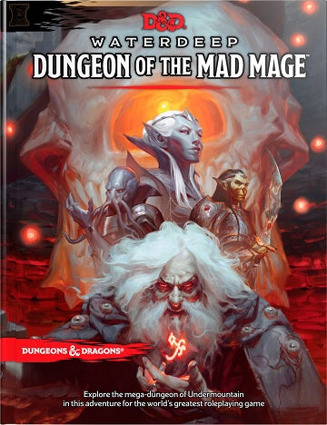 D&D 5.0 MAD MAGE
