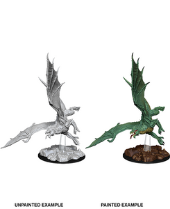 !DND UNPAINTED MINIS WV8 YOUNG GREEN DRAGON