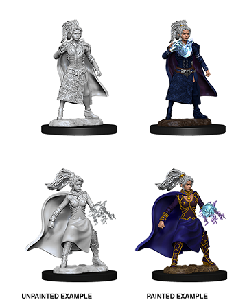 DND UNPAINTED MINIS WV10 FEMALE HUMAN SORCERER
