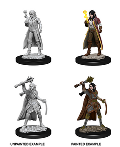 DND UNPAINTED MINIS WV10 FEMALE ELF CLERIC