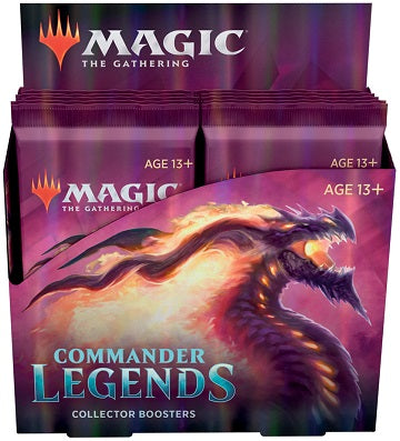 MTG BOOSTER ''COLLECTOR'S'' BOX (12) ~ COMMANDER LEGENDS
