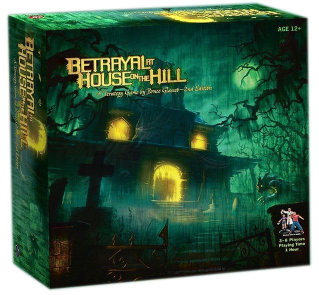 BETRAYAL; HOUSE ON THE HILL