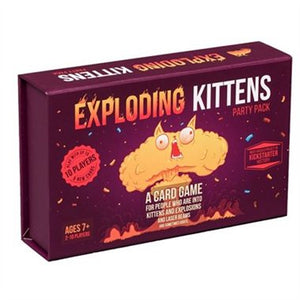 EXPLODING KITTENS; PARTY