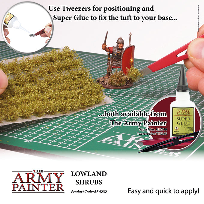 ARMY - TUFT LOWLAND SHRUBS