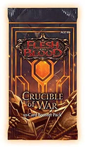 FLESH and BLOOD TCG ~ CRUCIBLE OF WAR booster PACK ~ unlimited edition (AUGUST 2021)