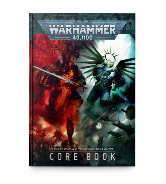 40K; (9TH) CORE RULEBOOK (FRANÇAIS)