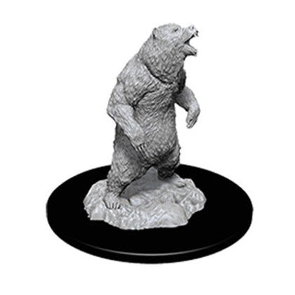 WIZKIDS UNPAINTED MINIS WV7 GRIZZLY