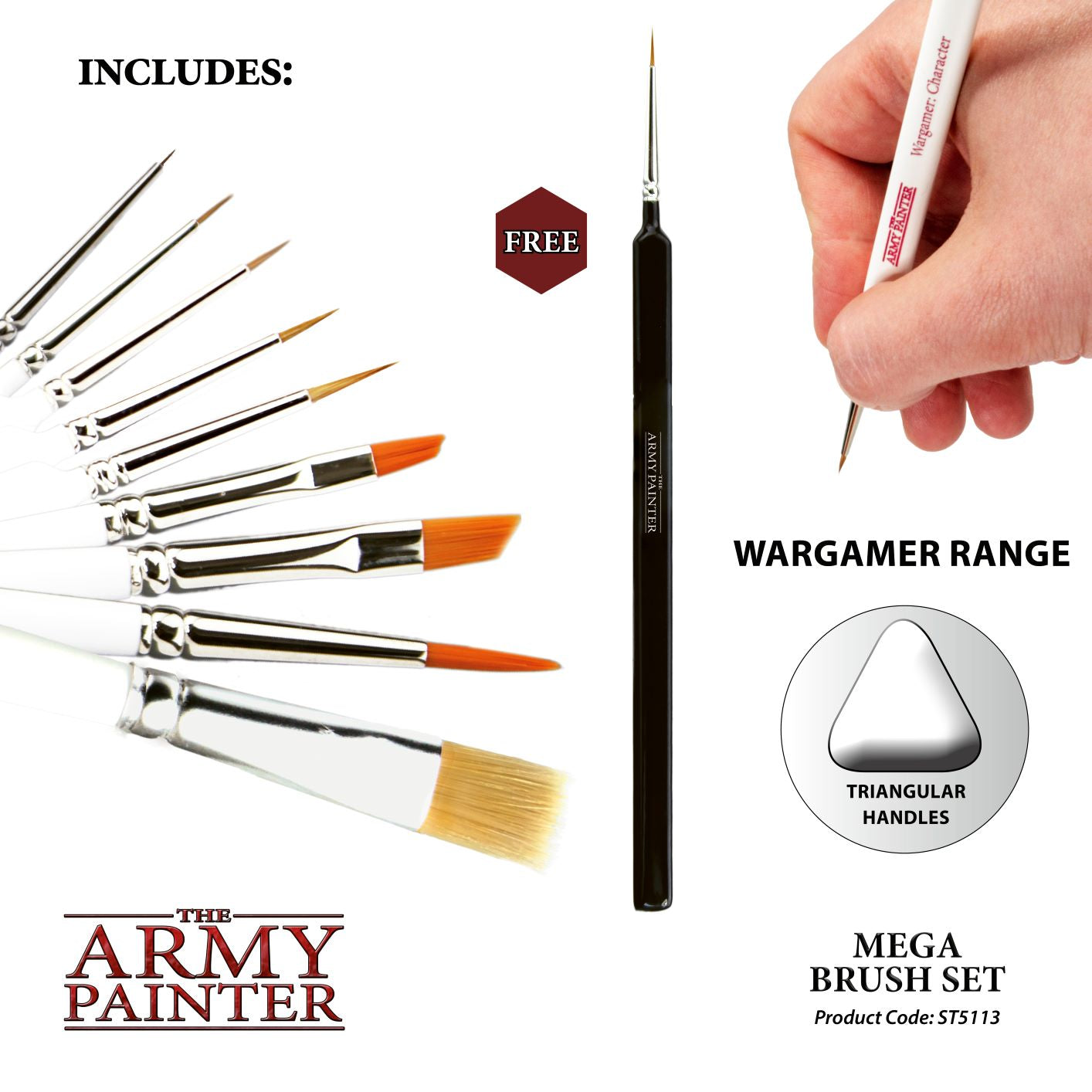 ARMY - BRUSH MEGA SET