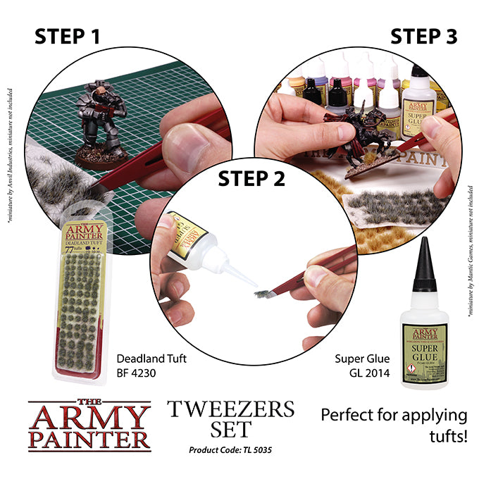 ARMY - TWEEZERS SET