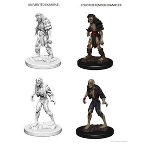 DND UNPAINTED MINIS WV1 ZOMBIES