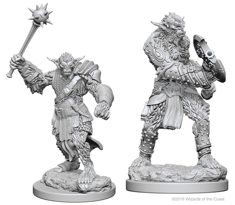 DND UNPAINTED MINIS WV1 BUGBEARS