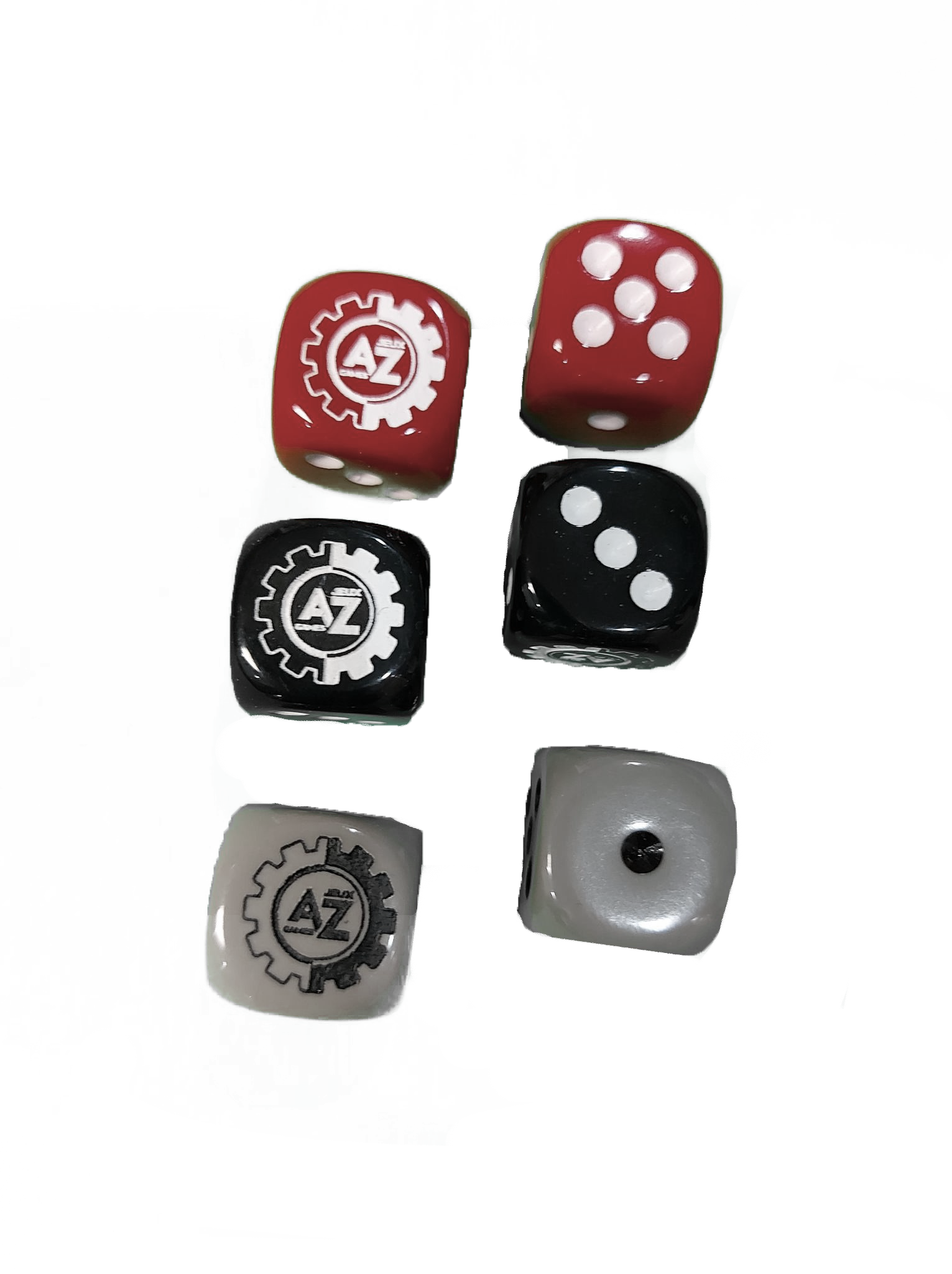 ** Jeux AZ Games ~ Dé à six faces (1) / Six sided die (1) **