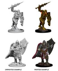 DND UNPAINTED MINIS WV6 DEATH KNIGHT/HELMED HORROR