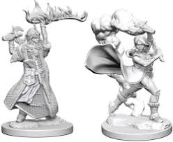 PF UNPAINTED MINIS WV1 FEMALE HUMAN CLERIC