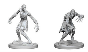 DND UNPAINTED MINIS WV1 GHOULS