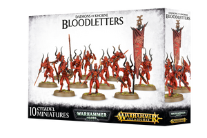 AGE; BLOODLETTERS OF KHORNE