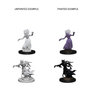DND UNPAINTED MINIS WV3 WRAITH AND SPECTER