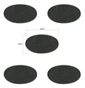 CITADEL OVAL BASE 60x35MM
