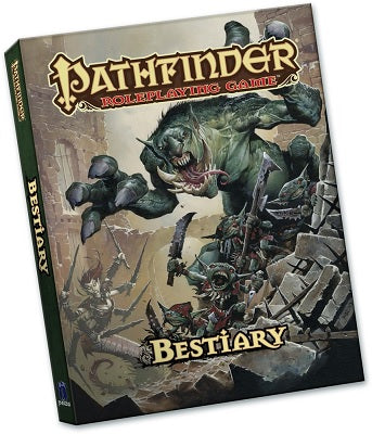 PATHFINDER POCKET EDITION - BESTIARY 1