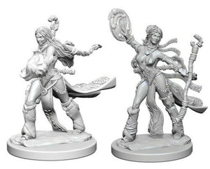 PF UNPAINTED MINIS WV1 FEMALE HUMAN SORCERER