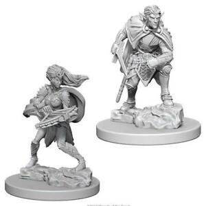 DND UNPAINTED MINIS WV4 DROW