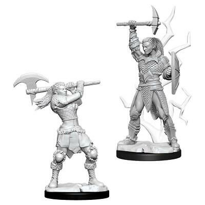 DND UNPAINTED MINIS WV10 FEMALE GOLIATH BARBARIAN