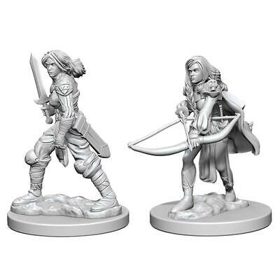 PF UNPAINTED MINIS WV1 FEMALE HUMAN FIGHTER