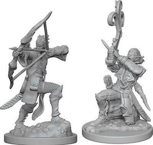 DND UNPAINTED MINIS WV4 ELF MALE BARD