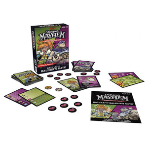 DUNGEON MAYHEM; BALDUR'S GATE