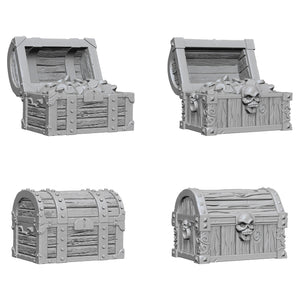 WIZKIDS UNPAINTED MINIS WV2 CHESTS