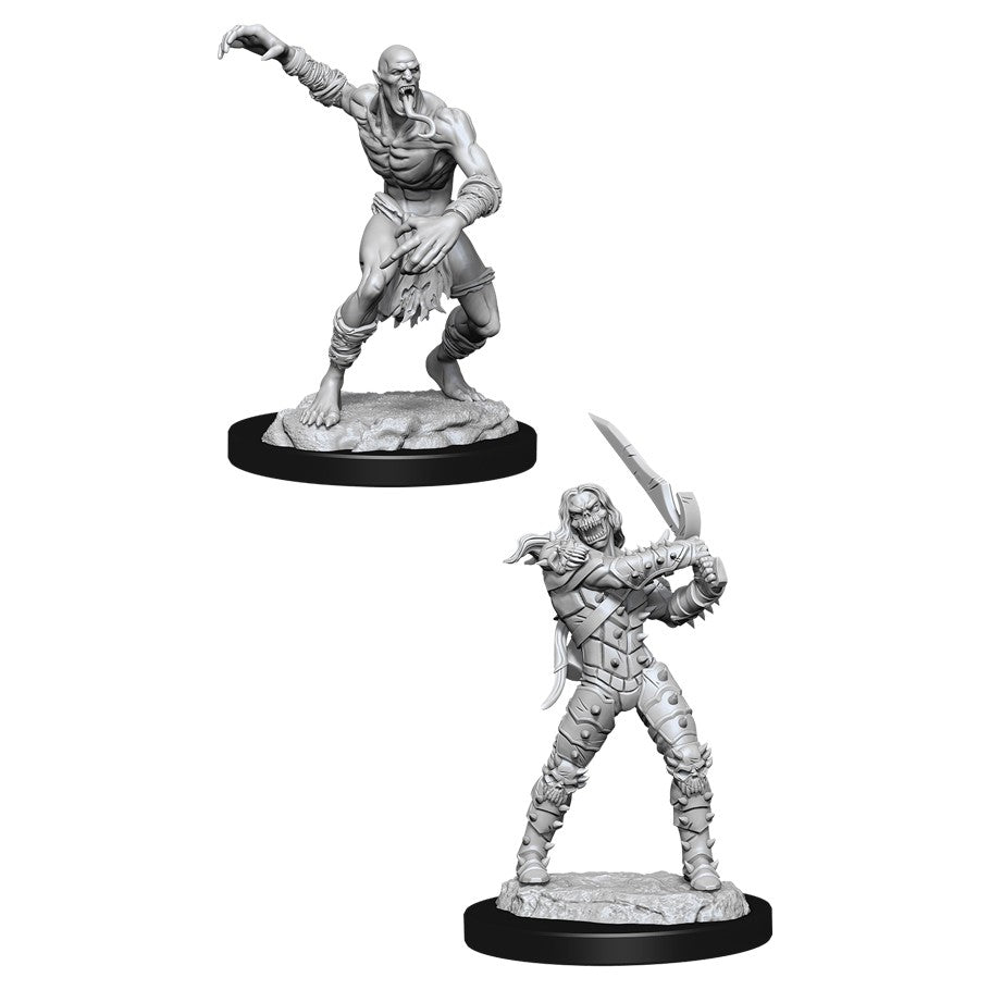 DND UNPAINTED MINIS WV11 WIGHT AND GHAST