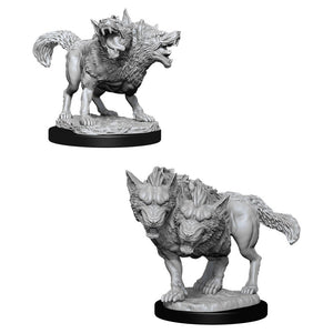 DND UNPAINTED MINIS WV11 DEATH DOG