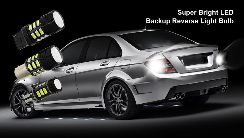 Reverse backup light