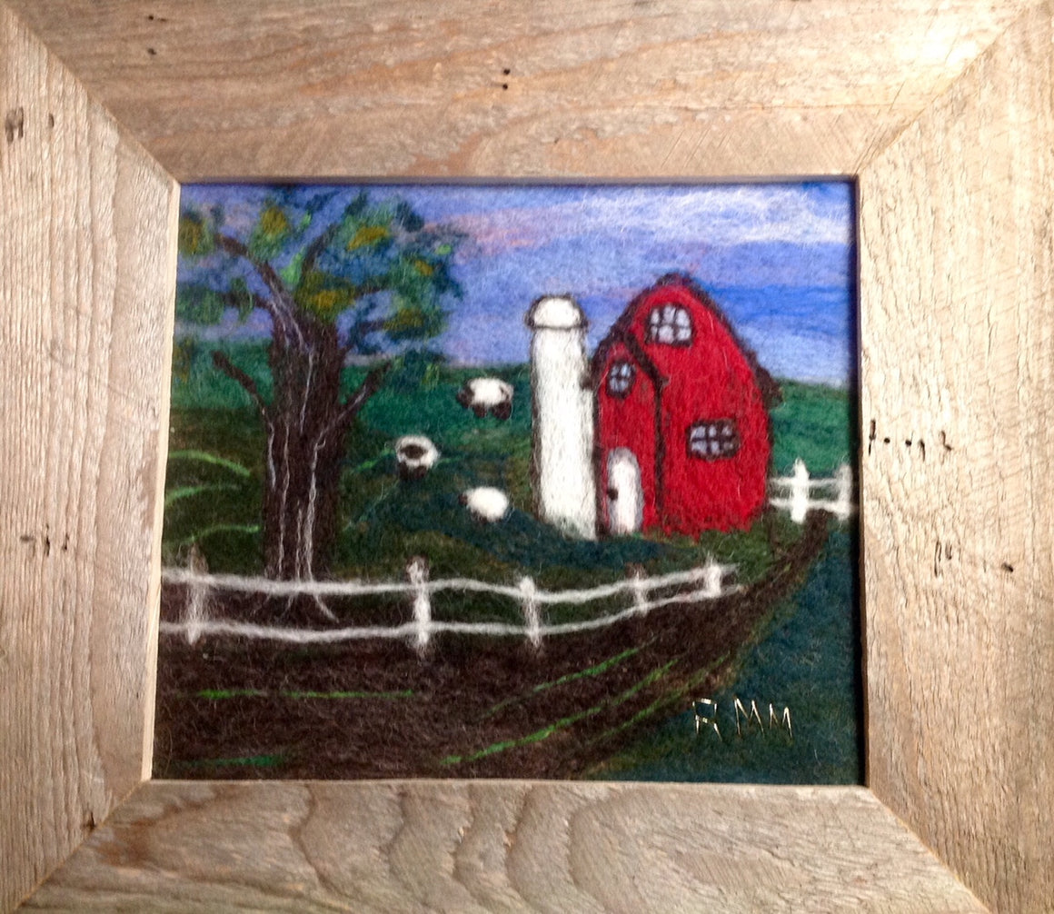 Old Red Barn Felting