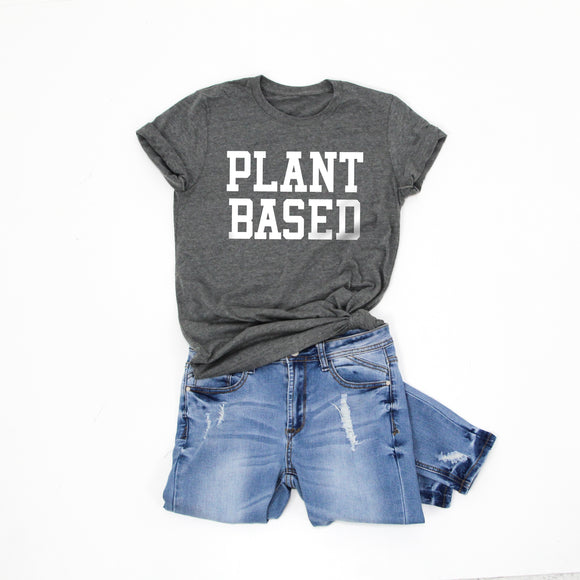 PLANT BASED -Letter Board Graphic Tee