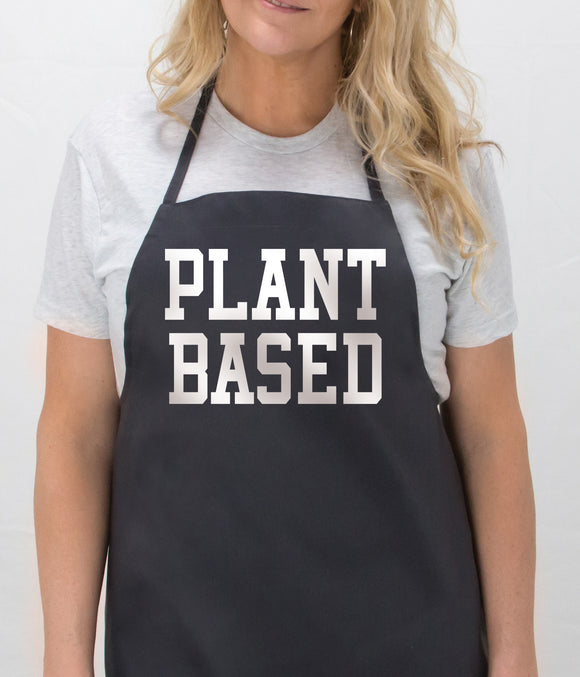 PLANT BASED Apron by Sketchy Threads