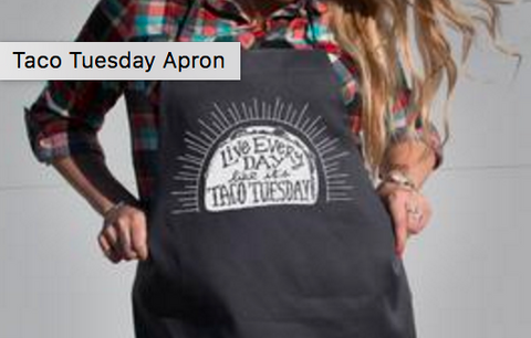 Taco Tuesday Apron