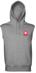 Sleeveless Hoodie (Small logo)|Pull à capuchon sans manches (Petit logo)
