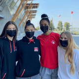 Volleyball Canada Custom Mask