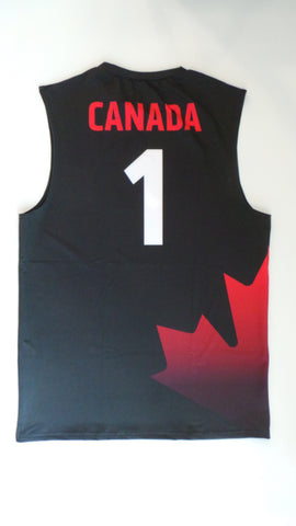 Men's Team Canada Official Jersey -  no 1 CANADA | Chandail officiel de l'équipe - CANADA no 1