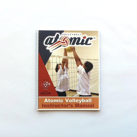 Atomic Volleyball Instructor's Manual | Volleyball Atomic - Manuel de l'instructeur