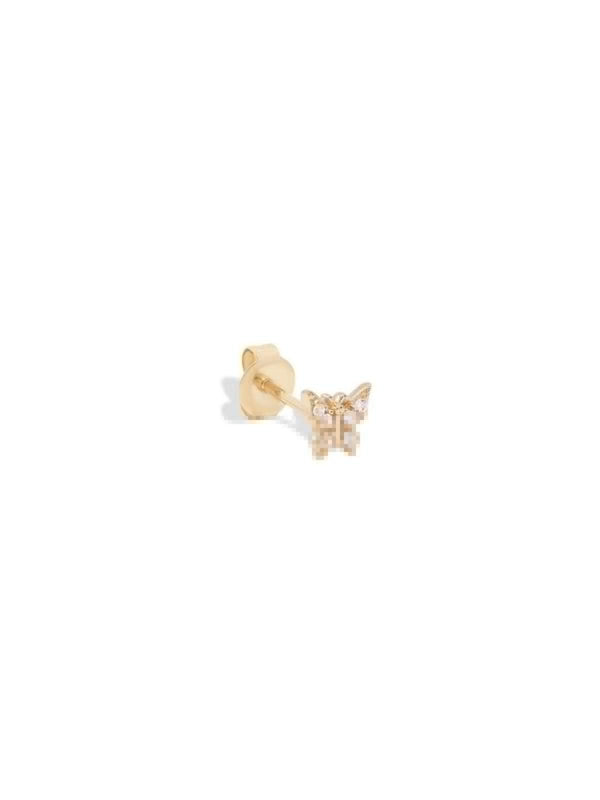By Charlotte 14k Gold Fly With Me Earring - Single (