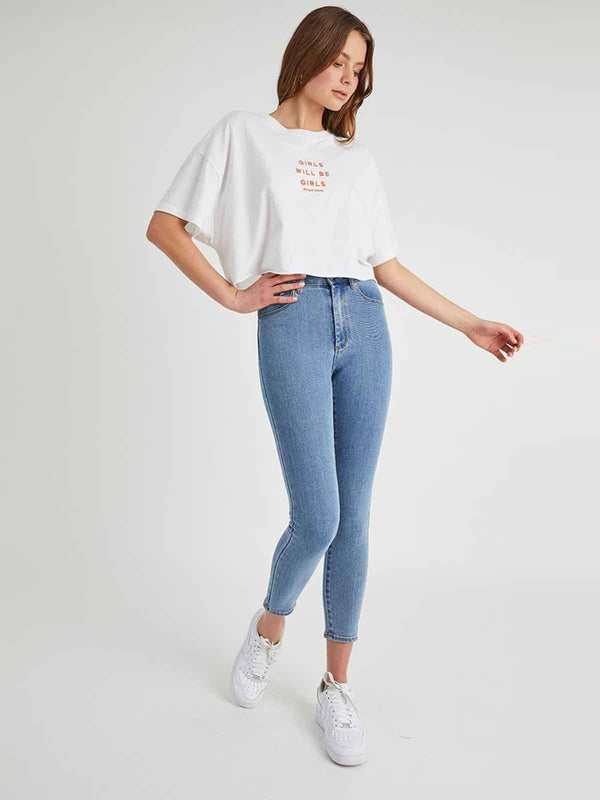 A High Skinny Ankle Basher Jeans Abrand