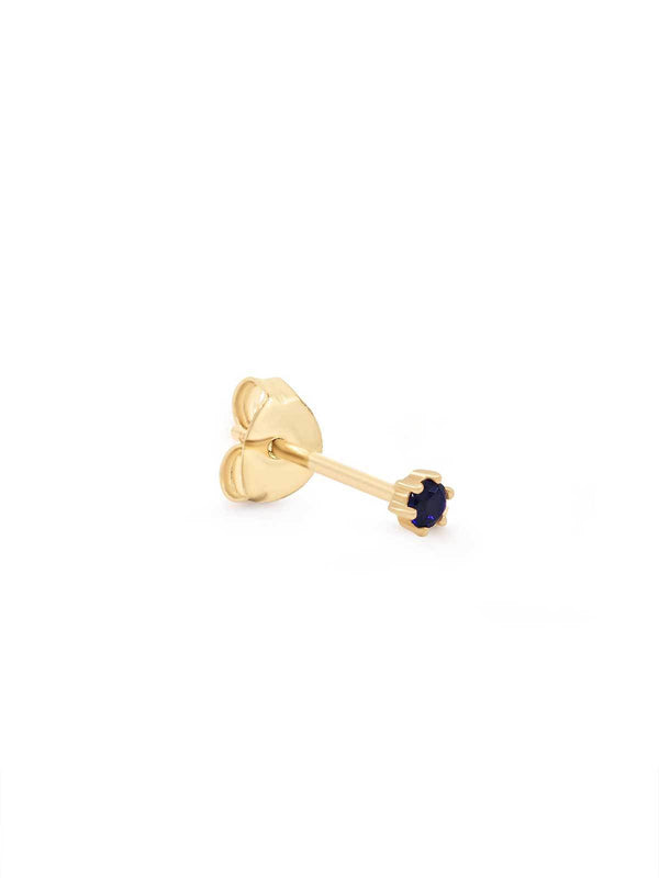 By Charlotte I 14k Gold Devotion Earrings I Perlu